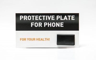 Schungit Handyplatte